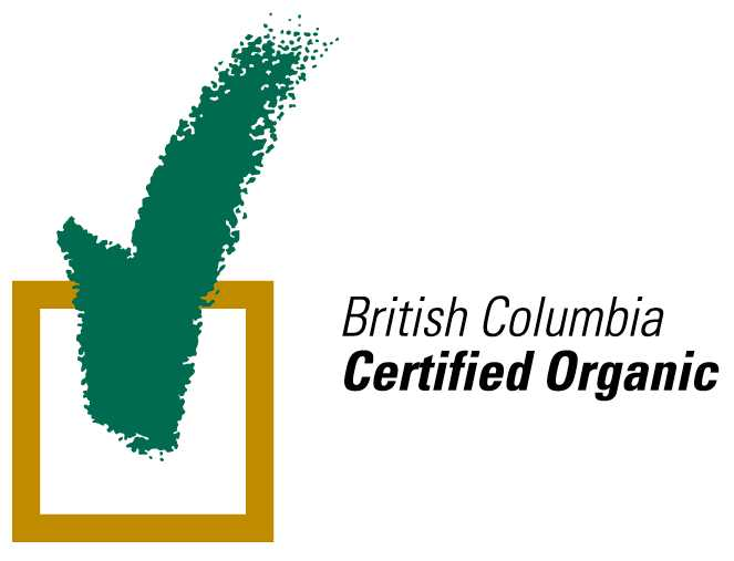 Bristish Columbia Certified Organic